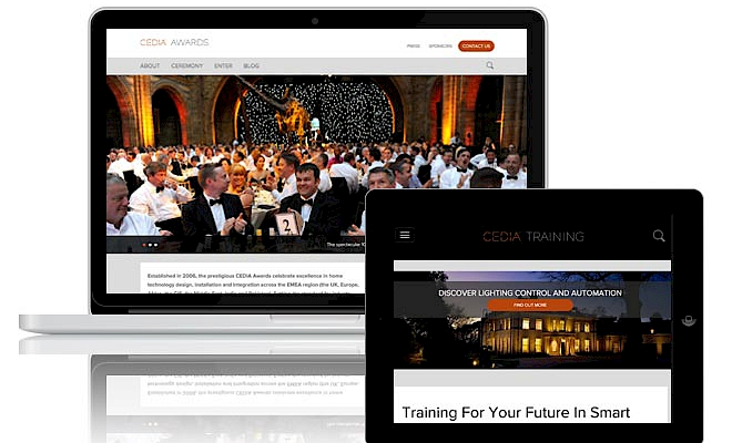 Presto Launch Two New CEDIA Websites as Part of Global Rebrand - Preview Image
