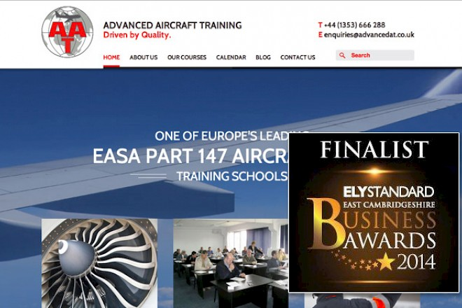 Presto Designed Website Finalist in Ely Business Awards 2014