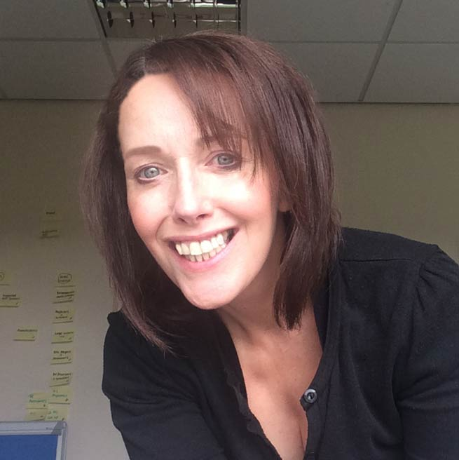 Welcome to our newest recruit - Helen Meads (Project Manager)