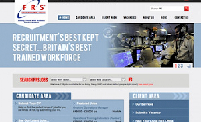 Forces Recruitment Services (FRS) choose Presto for media design - Preview Image