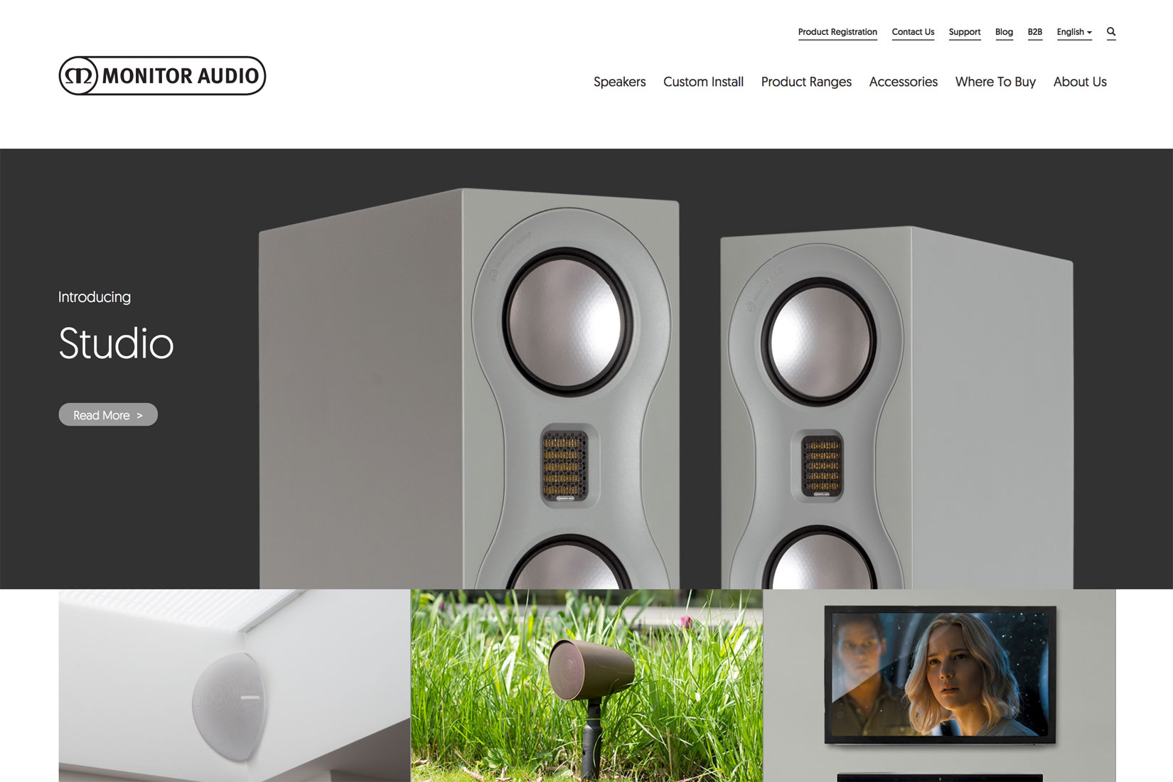 Monitor Audio Home Page