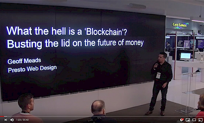 Geoff's CEDIA Expo Blockchain Booth Talk Video Now Live! - Preview Image
