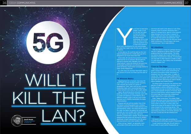 Our Thoughts on 5G and the LAN - Preview Image