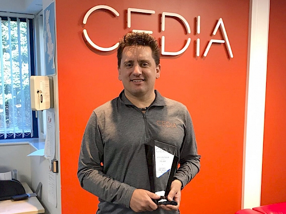 Geoff Wins CEDIA 'Volunteer Of The Year' 2019! - Preview Image